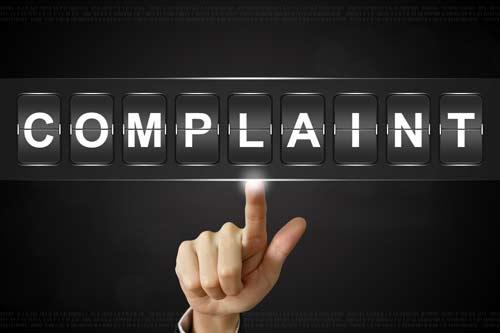 finance complaints